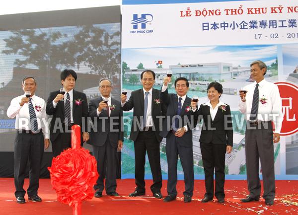Tổ chức sự kiện Lễ động thổ Khu Kỹ nghệ Việt Nhật - ViePan Techno Park - 27