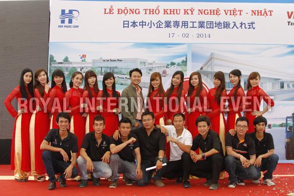 Tổ chức sự kiện Lễ động thổ Khu Kỹ nghệ Việt Nhật - ViePan Techno Park - 30