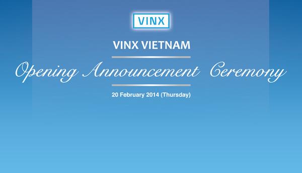 Tổ chức sự kiện Lễ khai trương Công ty VINX Việt Nam - 01