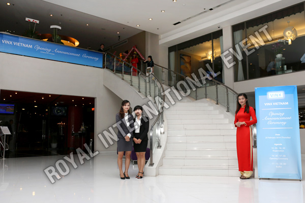 Tổ chức sự kiện Lễ khai trương Công ty VINX Việt Nam - 02