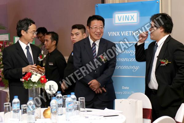 Tổ chức sự kiện Lễ khai trương Công ty VINX Việt Nam - 09