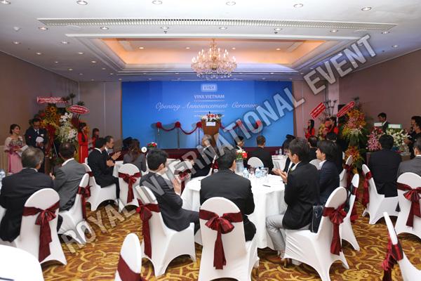 Tổ chức sự kiện Lễ khai trương Công ty VINX Việt Nam - 10