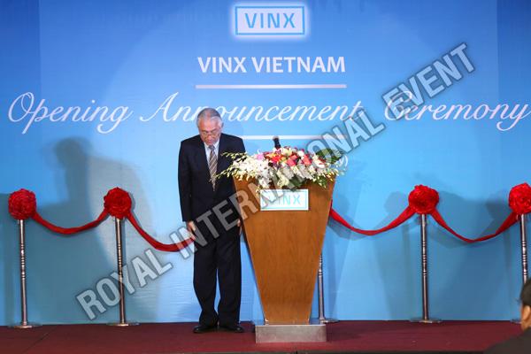 Tổ chức sự kiện Lễ khai trương Công ty VINX Việt Nam - 12