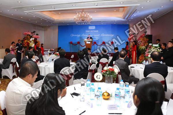 Tổ chức sự kiện Lễ khai trương Công ty VINX Việt Nam - 14