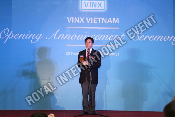 Tổ chức sự kiện Lễ khai trương Công ty VINX Việt Nam - 21