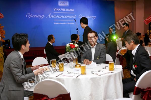 Tổ chức sự kiện Lễ khai trương Công ty VINX Việt Nam - 22