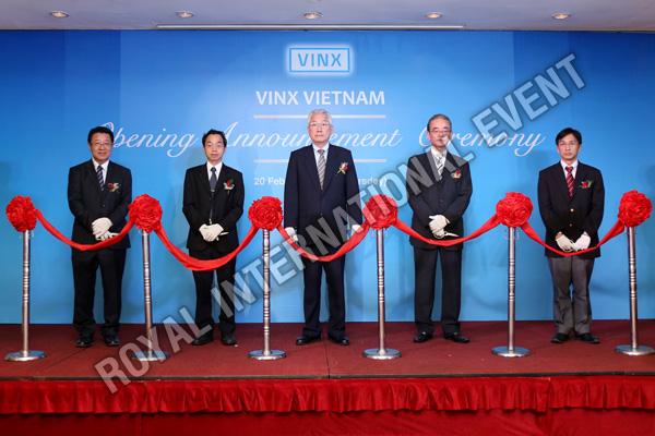 Tổ chức sự kiện Lễ khai trương Công ty VINX Việt Nam