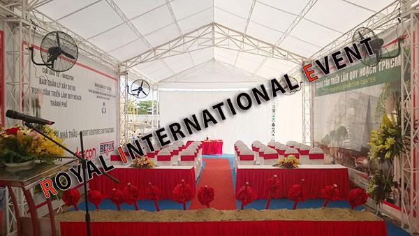 Tổ chức sự kiện - Lễ Động thổ khởi công Trung tâm triển lãm quy hoạch Tp.HCM - 01