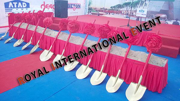 Tổ chức sự kiện - Lễ Động thổ khởi công Trung tâm triển lãm quy hoạch Tp.HCM - 02