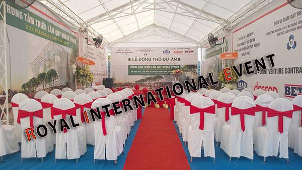 Tổ chức sự kiện - Lễ Động thổ khởi công Trung tâm triển lãm quy hoạch Tp.HCM - 04
