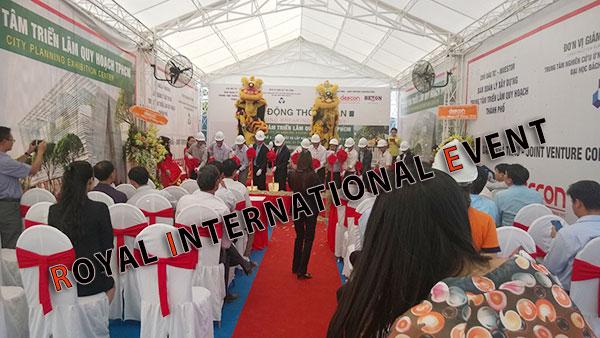 Tổ chức sự kiện - Lễ Động thổ khởi công Trung tâm triển lãm quy hoạch Tp.HCM - 05
