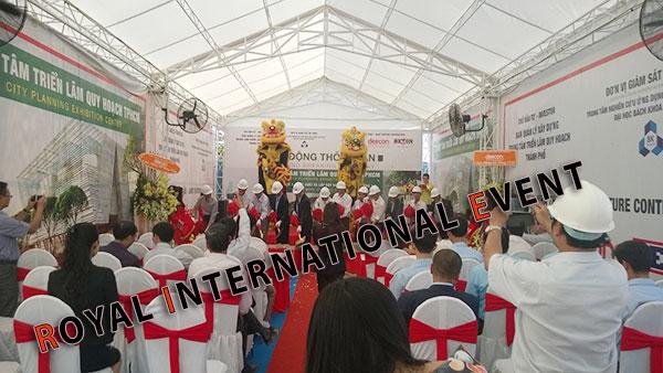 Tổ chức sự kiện - Lễ Động thổ khởi công Trung tâm triển lãm quy hoạch Tp.HCM - 06
