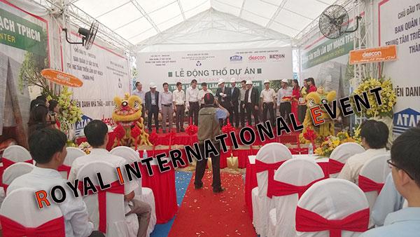 Tổ chức sự kiện - Lễ Động thổ khởi công Trung tâm triển lãm quy hoạch Tp.HCM - 07