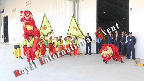 Tổ chức sự kiện - Lễ khánh thành nhà máy rang xay cà phê Tập đoàn Neumann Gruppe Việt Nam - 02