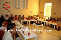 Tổ chức sinh hoạt Offline Câu lạc bộ Five Event tại UP Cafe