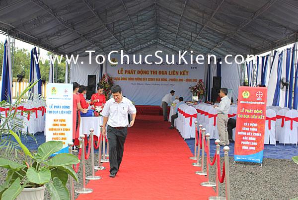 Tổ chức sự kiện Lễ phát động thi đua liên kết xây dựng công trình đường dây 220KV Đăk Nông - Phước Long - Bình Long - 3