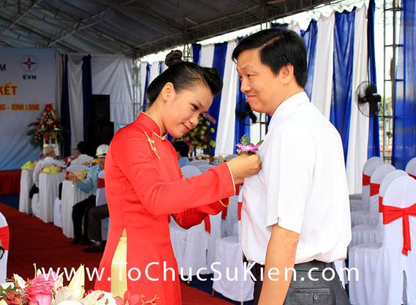 Tổ chức sự kiện Lễ phát động thi đua liên kết xây dựng công trình đường dây 220KV Đăk Nông - Phước Long - Bình Long - 8
