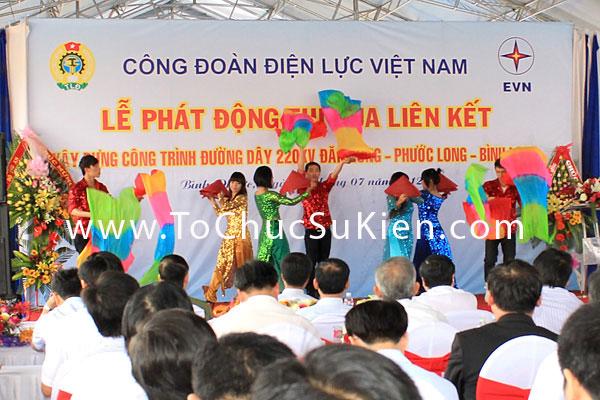 Tổ chức sự kiện Lễ phát động thi đua liên kết xây dựng công trình đường dây 220KV Đăk Nông - Phước Long - Bình Long - 11