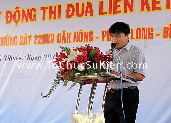 Tổ chức sự kiện Lễ phát động thi đua liên kết xây dựng công trình đường dây 220KV Đăk Nông - Phước Long - Bình Long - 13