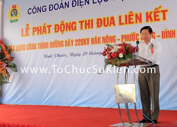 Tổ chức sự kiện Lễ phát động thi đua liên kết xây dựng công trình đường dây 220KV Đăk Nông - Phước Long - Bình Long - 15