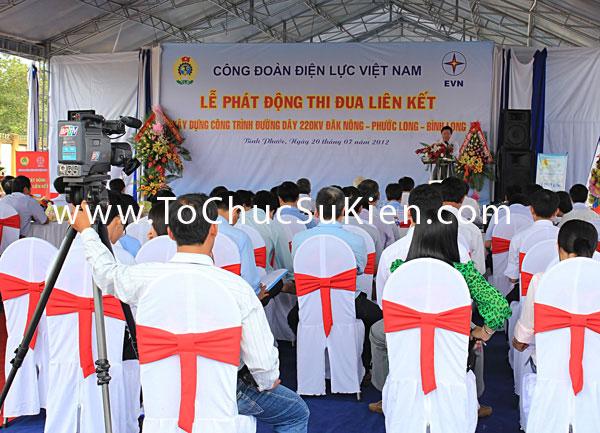 Tổ chức sự kiện Lễ phát động thi đua liên kết xây dựng công trình đường dây 220KV Đăk Nông - Phước Long - Bình Long - 16