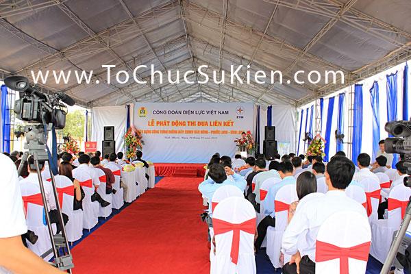 Tổ chức sự kiện Lễ phát động thi đua liên kết xây dựng công trình đường dây 220KV Đăk Nông - Phước Long - Bình Long - 18