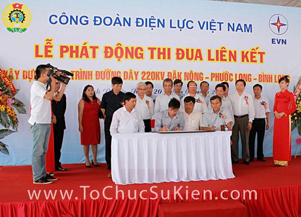 Tổ chức sự kiện Lễ phát động thi đua liên kết xây dựng công trình đường dây 220KV Đăk Nông - Phước Long - Bình Long - 26