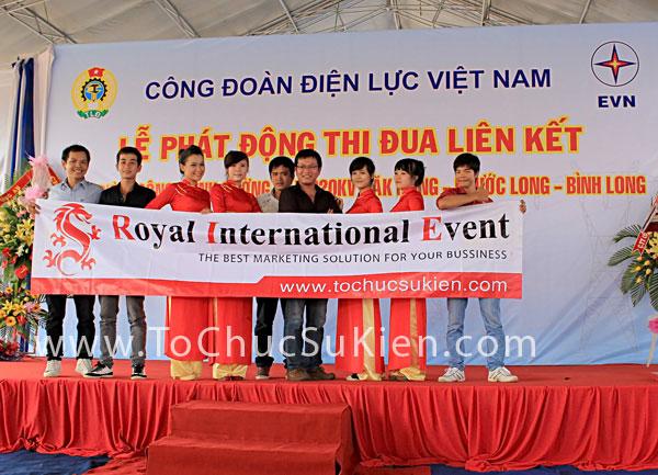 Tổ chức sự kiện Lễ phát động thi đua liên kết xây dựng công trình đường dây 220KV Đăk Nông - Phước Long - Bình Long - 28