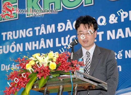 Tổ Chức Sự Kiện Lễ Khởi Công Trung Tâm Đào Tạo & Phát Triển Nguồn Nhân Lực Kỹ Thuật Việt Nhật