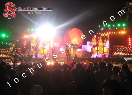 Tổ Chức Sự Kiện Đêm Hội GaLa H2Teen Concert
