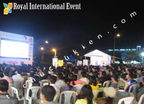 Cho thuê thiết bị tổ chức sự kiện Dự án làm phim 48 giờ - HK film