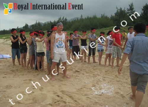 Tổ chức sự kiện Team Building tại Long Hải- Câu lạc bộ tổ chức sự kiện Five Event