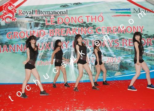 Tổ Chức Sự Kiện Lễ Động Thổ Manna Luxury Holidays Resort