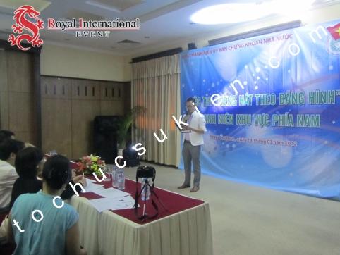 Tổ Chức Sự Kiện Cuộc Thi Tiếng Hát Theo Băng Hình - Sở Giao Dịch Chứng Khoán TpHCM