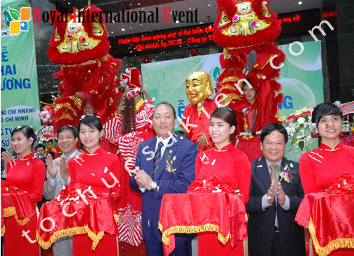 Tổ chức sự kiện khai trương văn phòng của Công ty Thiên sư Việt Nam - Tập đoàn TIENS