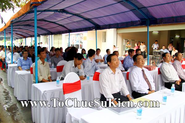 Tổ chức sự kiện Lễ trao giấy chứng nhận quyến sử dụng đất cho các hộ dântái định cư trên địa bàn Gò Vấp tại Chung cư An Sương - Q.12 - 09