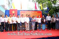 Tổ chức sự kiện Lễ trao giấy chứng nhận quyền sử dụng đất cho các hộ dân tái định cư trên địa bàn Gò Vấp tại Chung cư An Sương - Q.12
