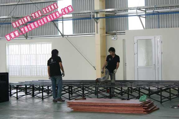 Hậu trường tổ chức sự kiện Lễ khánh thành nhà máy Tanaka - Nhơn Trạch - Đồng Nai - 01