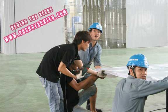 Hậu trường tổ chức sự kiện Lễ khánh thành nhà máy Tanaka - Nhơn Trạch - Đồng Nai - 02