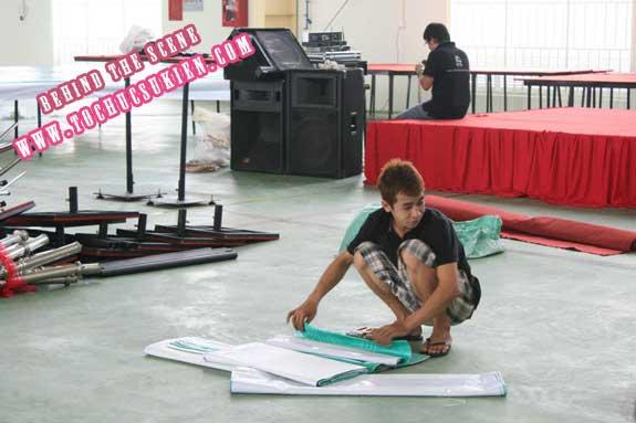 Hậu trường tổ chức sự kiện Lễ khánh thành nhà máy Tanaka - Nhơn Trạch - Đồng Nai - 04