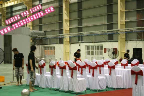 Hậu trường tổ chức sự kiện Lễ khánh thành nhà máy Tanaka - Nhơn Trạch - Đồng Nai - 05