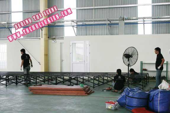 Hậu trường tổ chức sự kiện Lễ khánh thành nhà máy Tanaka - Nhơn Trạch - Đồng Nai - 06