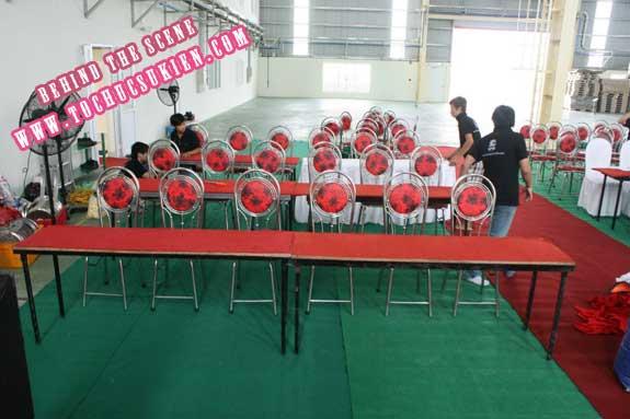 Hậu trường tổ chức sự kiện Lễ khánh thành nhà máy Tanaka - Nhơn Trạch - Đồng Nai - 08