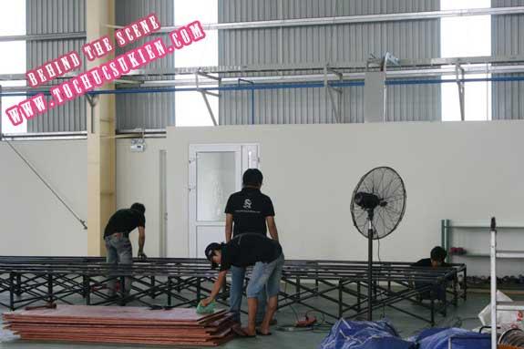 Hậu trường tổ chức sự kiện Lễ khánh thành nhà máy Tanaka - Nhơn Trạch - Đồng Nai - 11