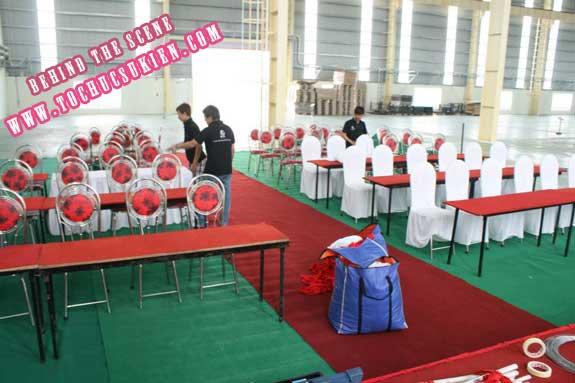 Hậu trường tổ chức sự kiện Lễ khánh thành nhà máy Tanaka - Nhơn Trạch - Đồng Nai - 15