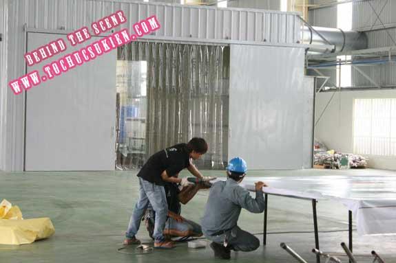 Hậu trường tổ chức sự kiện Lễ khánh thành nhà máy Tanaka - Nhơn Trạch - Đồng Nai - 19
