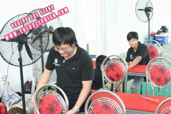 Hậu trường tổ chức sự kiện Lễ khánh thành nhà máy Tanaka - Nhơn Trạch - Đồng Nai - 20