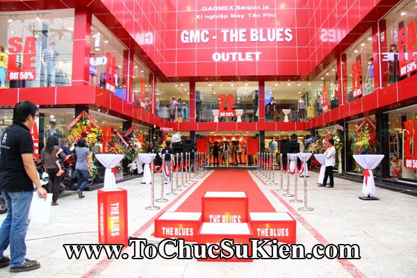 Tổ chức sự kiện Lễ khai trương cửa hàng - Đêm Gala thời trang thương hiệu The Blues - 01