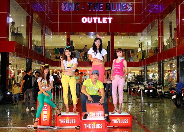 Tổ chức sự kiện Lễ khai trương cửa hàng Outlet của thương hiệu thời trang Blue - 05