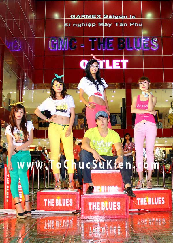 Tổ chức sự kiện Lễ khai trương cửa hàng Outlet của thương hiệu thời trang Blue - 06